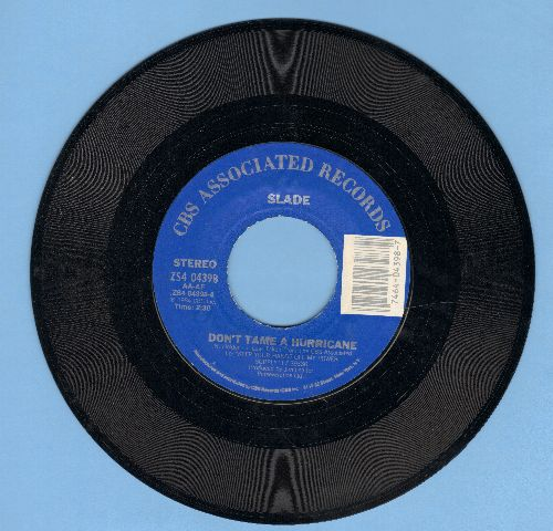 Slade - Don't Tame A Hurricane/Run Runaway - NM9/ - 45 rpm Records