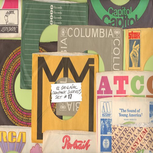 Company Sleeves - 12 Vintage Company Sleeves - Set #012-17 (exactly as pictured!) - Dress up your 7 inch vinyl records in original company sleeves of the 1950s & 60s. Excellent condition. - /EX8 - Supplies