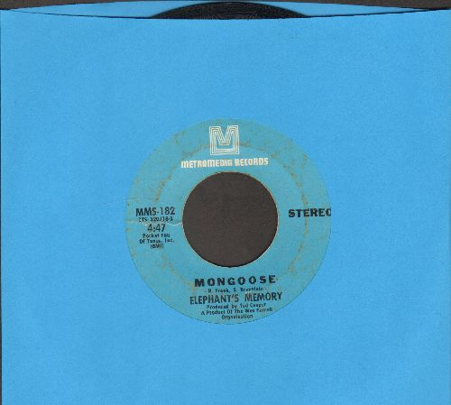 Elephant's Memory - Mongoose/I Couldn't Dream - EX8/ - 45 rpm Records