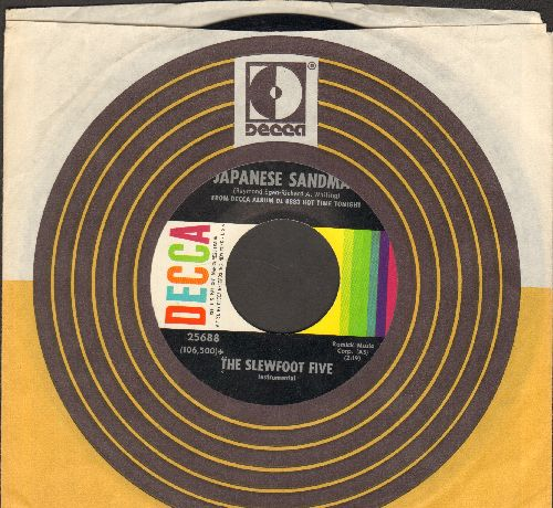 Slewfoot Five - Japanese Sandman/South (NICE condition with Decca company sleeve) - NM9/ - 45 rpm Records