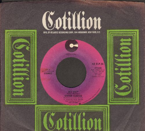 Sister Sledge - My Guy/ Il Macquillage Lady (with Cotillion company sleeve) - NM9/ - 45 rpm Records