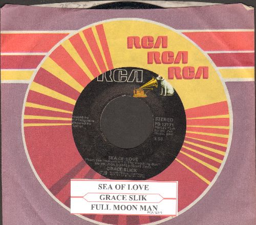 Slick, Grace - Sea Of Love/Full Moon Man (with juke box label and RCA company sleeve) - NM9/ - 45 rpm Records