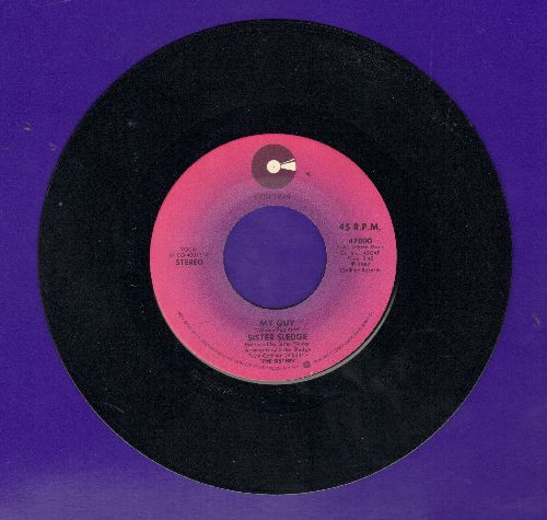 Sister Sledge - My Guy/Il Macquillage Lady (with juke box label) - NM9/ - 45 rpm Records