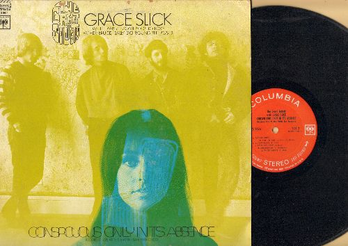 Slick, Grace - The Great Society: Sally Go 'Round The Roses, Somebody To Love, White Rabbit, Arbitration (vinyl STEREO LP record) - EX8/EX8 - LP Records