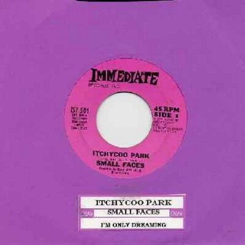 Small Faces - Itchycoo Park (It's All Too Beautiful)/I'm Only Dreaming (Original first issue of Rock Classic with juke box label) - NM9/ - 45 rpm Records