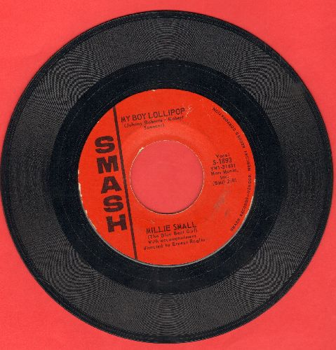 Small, Millie - My Boy Lollipop/Something's Gotta Be Done  - EX8/ - 45 rpm Records