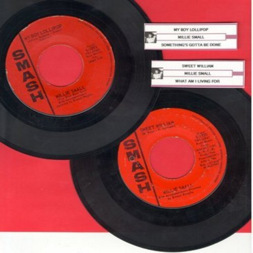 Small, Millie - 2 for 1 Special: My Boy Lollipop/Sweet William (2 vintage first issue 45rpm records with juke box labels for the price of 1!) - VG7/ - 45 rpm Records
