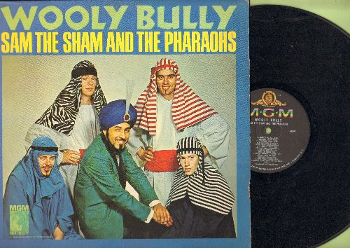 Sam The Sham & The Pharaohs - Wooly Bully: Long Tall Sally, Go-Go Girls, Haunted House, Shotgun, The Memphis Beat (vinyl MONO LP record) - VG7/EX8 - LP Records