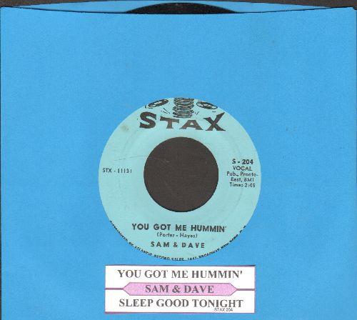 Sam & Dave - You Got Me Hummin'/Sleep Good Night (with juke box label) - NM9/ - 45 rpm Records