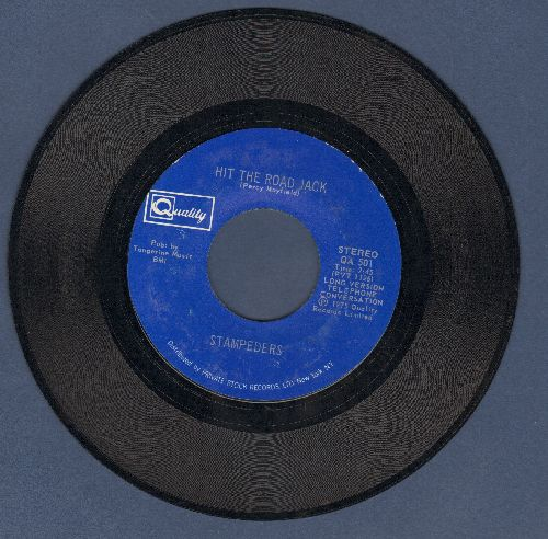 Stampeders - Hit The Road Jack/Hard Lovin Woman - NM9/ - 45 rpm Records