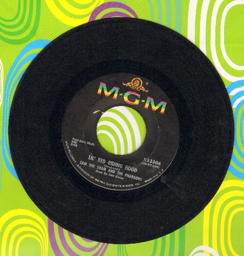 Sam The Sham & The Pharaohs - Lil' Red Riding Hood/Love Me Like Before  - VG7/ - 45 rpm Records