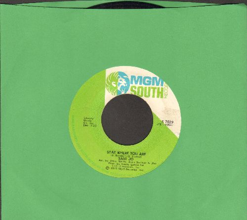 Sami Jo - Stay Where You Are/Tell Me A Lie - VG7/ - 45 rpm Records