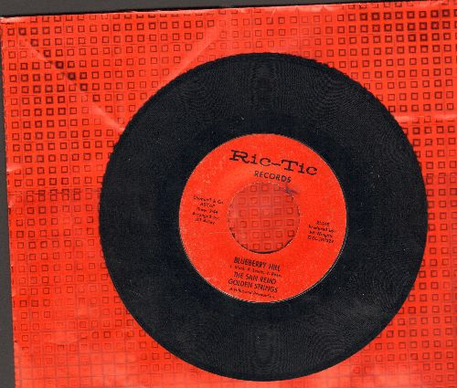 San Remo Golden Strings - Blueberry Hill/I'm Satisfied - NM9/ - 45 rpm Records