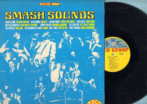 Capitols, Otis Redding, Sonny & Cher, others - Smash Sounds: Cool Jerk, The Beat Goes On, Respect, Stand By Me, Gloria (vinyl STEREO LP record) - EX8/EX8 - LP Records