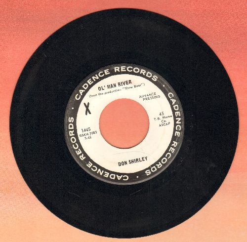 Shirley, Don - Ol' Man River/If I Had A  Hammer (DJ advance pressing) - NM9/ - 45 rpm Records