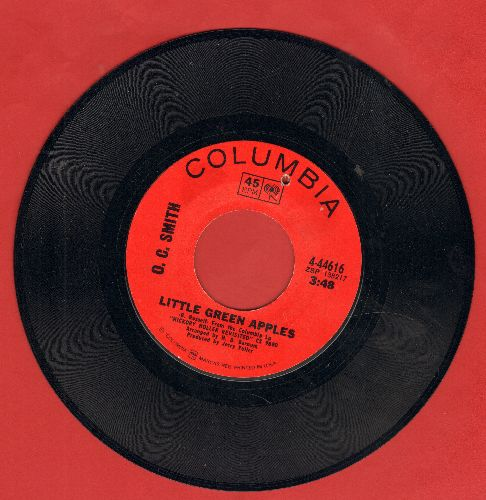 Smith, O. C. - Little Green Apples/Long Black Limousine (bb) - VG7/ - 45 rpm Records