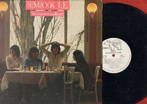 Smokie - The Montreux Album: The Girl Can't Help It, Oh Carol, For A Few Dollars More (vinyl STEREO LP record, DJ advance pressing) - NM9/EX8 - LP Records