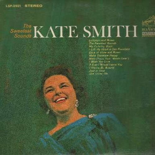 Smith, Kate - The Sweetest Sounds: My Coloring Book, More, Make Someone Happy, Lollipops And Roses, I Left My Heart In San Francisco (Vinyl STEREO LP record) - NM9/NM9 - LP Records