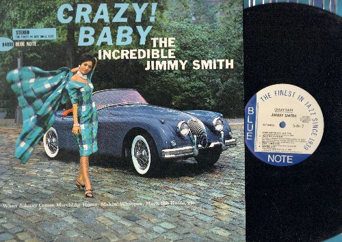Smith, Jimmy - Crazy! Baby: When Johnny Comes Marching Home,Makin' Whoopee, Mack The Knife, Sonnymoon For Two (vinyl STEREO LP record, 1986 re-issue of 1962 recordings) - NM9/NM9 - LP Records