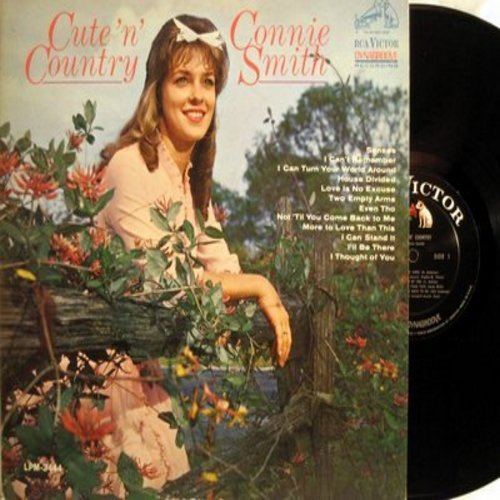 Smith, Connie - Cute'n' Country: Two Empty Arms, I'll Be There, House Divided, More To Love Than This (Vinyl MONO LP record) - NM9/EX8 - LP Records