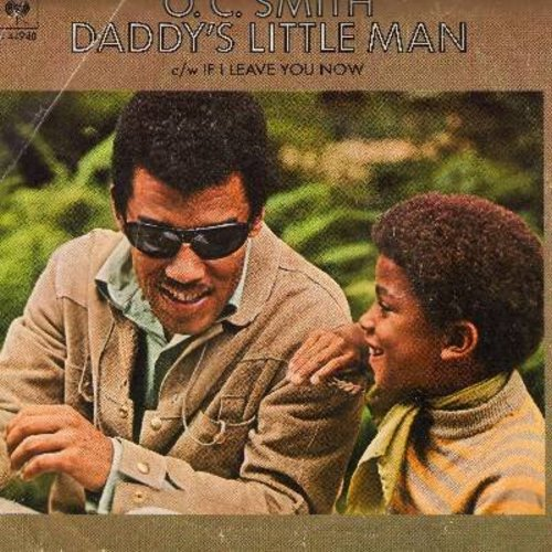 Smith, O. C. - Daddy's Little Man/If I Leave You Now (with picture sleeve) - NM9/VG7 - 45 rpm Records