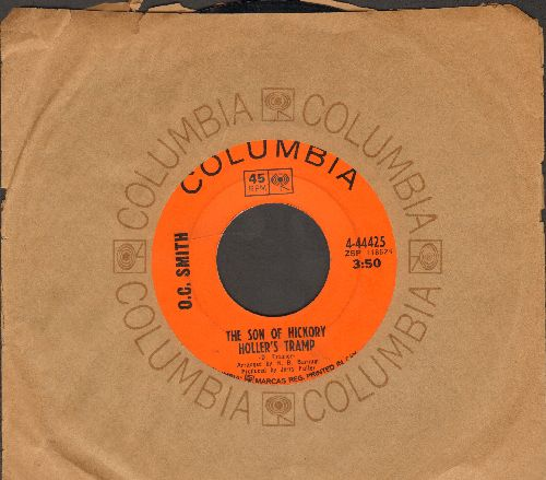Smith, O. C. - The Son Of Hickory Holler's Tramp/Honey (I Miss You) (double-hit re-issue with Columbia company sleeve) - EX8/ - 45 rpm Records