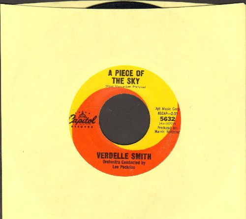 Smith, Verdelle  - A Piece Of The Sky/Tar And Cement  - EX8/ - 45 rpm Records