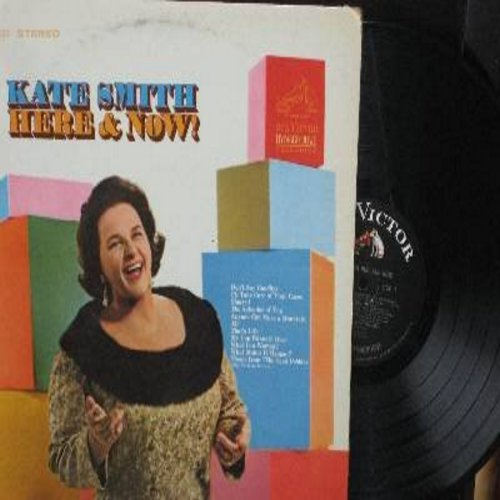 Smith, Kate - Here & Now!: Sherry, That's Life, My Cup Runneth Over, Theme From The Sand Pebbles, All (Vinyl STEREO LP record) - NM9/EX8 - LP Records