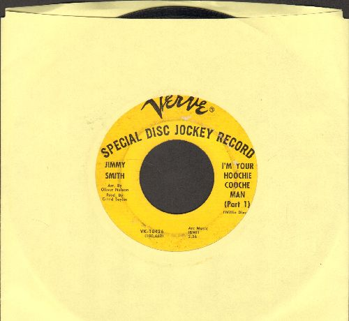 Smith, Jimmy - I'm Your Hoochie Cooche Man (Parts 1 + 2) - VG6/ - 45 rpm Records