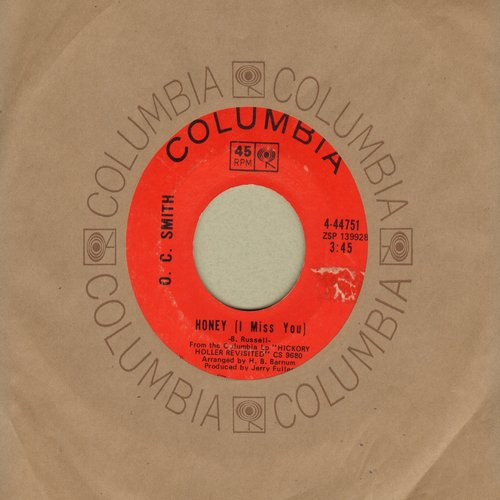 Smith, O. C. - Honey (I Miss You)/Keep On Keepin' On - EX8/ - 45 rpm Records