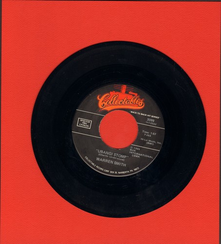 Smith, Warren - Ubangi Stomp/Rock House (by Roy Orbison on flip-side) (re-issue) - M10/ - 45 rpm Records