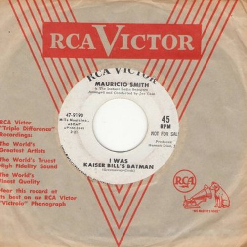 Smith, Whistling Jack - I Was Kaiser Bill's Batman: Tom Hark, Waltzing Matilda, Hava Nagila, Battle Hymn Of The Republic, Frere Jaques (Vinyl STEREO LP record) - EX8/VG7 - LP Records