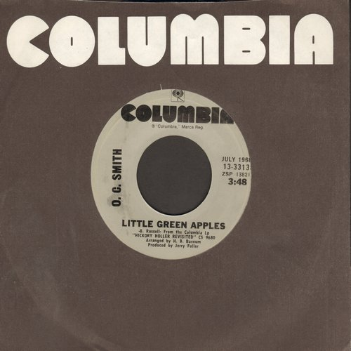 Smith, O. C. - Little Green Apples/Isn't It Lonely Together (re-issue) - NM9/ - 45 rpm Records