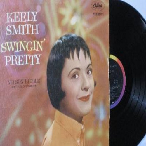 Smith, Keely - Swingin' Pretty: It's Magic, Stormy Weather, It's Been A Long Long Time, The Man I Love, There Will Never Be Another You (Vinyl MONO LP record) - EX8/VG7 - LP Records