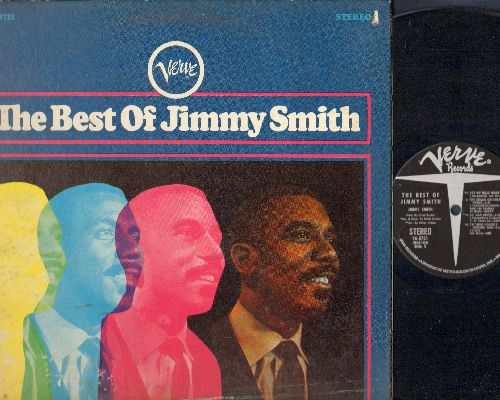 Smith, Jimmy - The Best Of: Walk On The Wild Side, Got My Mojo Working, I'm Your Hoochie Coochie Man, The Cat (Vinyl STEREO LP record, gate-fold cover) - EX8/G5 - LP Records