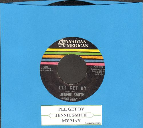 Smith, Jennie - I'll Get By/My Man (with juke box label) - NM9/ - 45 rpm Records