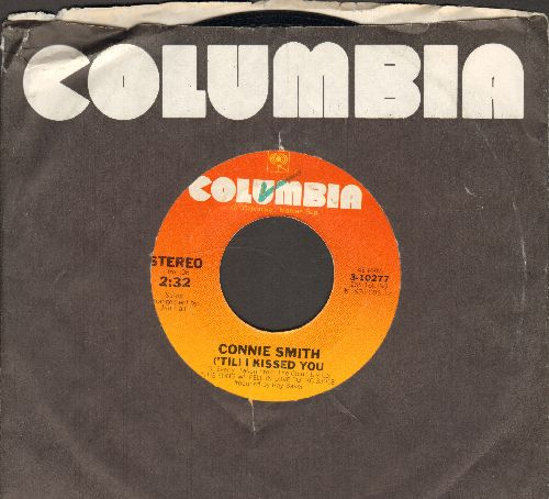 Smith, Connie - ('Til) I Kissed You/Ridin' On A Rainbow (with Columbia company sleeve) - NM9/ - 45 rpm Records
