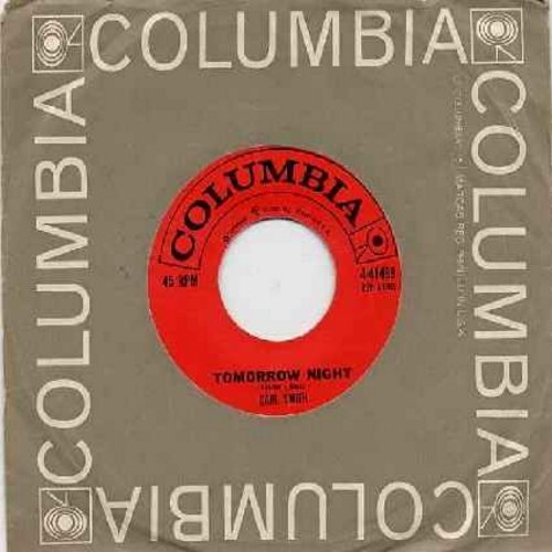 Smith, Carl - Tomorrow Night/I'll Walk With You (with Columbia company sleeve) - NM9/ - 45 rpm Records