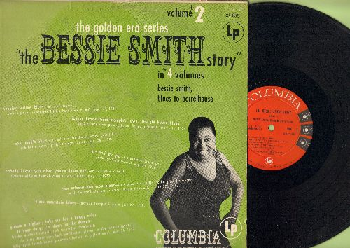 Smith, Bessie - The Bessie Smith Story Vol.2: Gimmie A Pigfoot, Take Me Out For A Buggy Ride, Do Your Duty, Jazzbo Brown From Memphis Town (Vinyl MONO LP record, red label, 6 eyes) - EX8/VG6 - LP Records