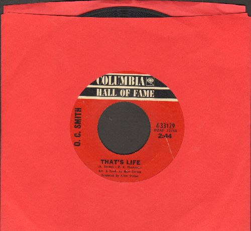 Smith, O. C. - That's Life/The Season (double-hit re-issue) - VG7/ - 45 rpm Records