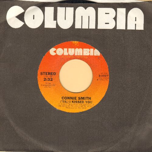 Smith, Connie - ('Til) I Kissed You/Ridin' On A Rainbow (with Columbia company sleeve) - EX8/ - 45 rpm Records