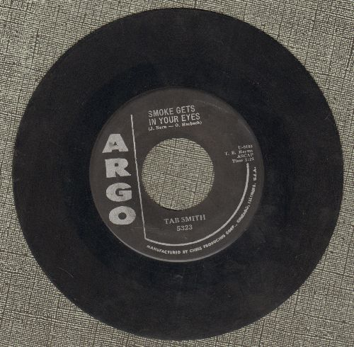 Smith, Tab - Smoke Gets In Your Eyes/My Happiness Cha-Cha - VG7/ - 45 rpm Records