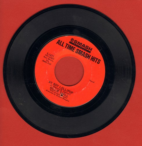 Small, Millie - My Boy Lollipop/Sweet William (double-hit re-issue) (bb) - EX8/ - 45 rpm Records