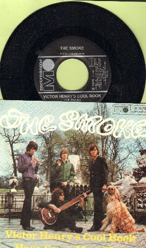Smoke - Victor Henry's Cool Book/Have Some More Tea (German Pressing with picture sleeve) - NM9/NM9 - 45 rpm Records