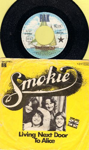 Smokie - Oh Carol/Will You Love Me (German Pressing with picture sleeve) - NM9/VG6 - 45 rpm Records