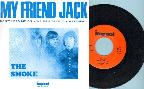 Smoke - My Friend Jack/Don't Lead Me On/We Can Take It/Waterfall (vinyl EP record with picture cover, re-issue with picture cover) - NM9/NM9 - 45 rpm Records