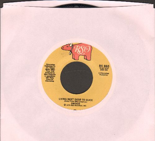 Smokie - Living Next Door To Alice/When My Back Was Against The Wall (MINT condition!) - M10/ - 45 rpm Records