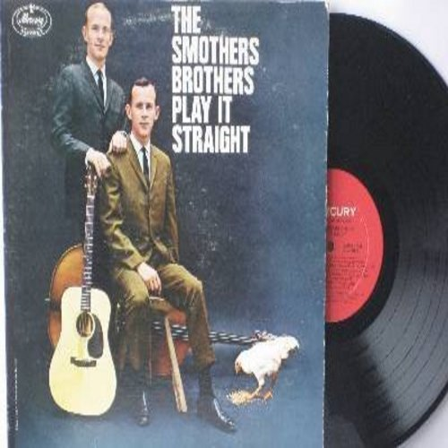 Smothers Brothers - Smothers Brothers Play It Straight: Hound Dog Blues, The Write Of Songs, Someone To Talk My Troubles To, Yesterday, They Are Gone (Vinyl MONO LP record) - NM9/EX8 - LP Records