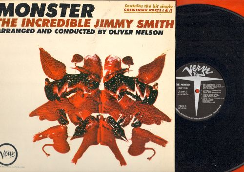 Smith, Jimmy - Monster: Theme From The Munsters, Goldfinger (Parts 1 + 2), Theme From Bewitched, The Creeper (vinyl MONO LP record, gate-fold cover) - NM9/EX8 - LP Records