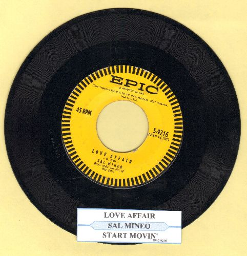 Mineo, Sal - Love Affair/Start Movin' (In My Direction) (with juke box label) - EX8/ - 45 rpm Records